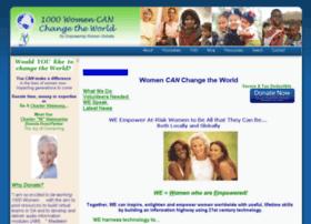 1000womencanchangetheworld.org thumbnail