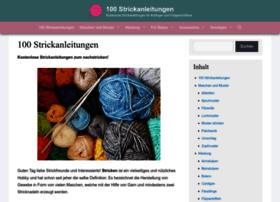 100strickanleitungen.de thumbnail