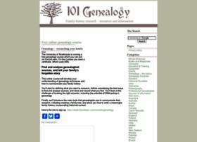 101genealogy.com thumbnail