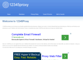 12345proxy.org thumbnail