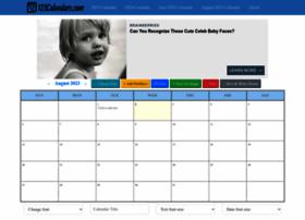 123calendars.com at WI. 2021 Printable Calendar ...