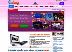123flashchat.net thumbnail