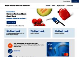 7rewardscard.com at WI. Kroger REWARDS World Mastercard® Home