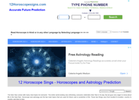 Free Online Horoscopes at Website Informer