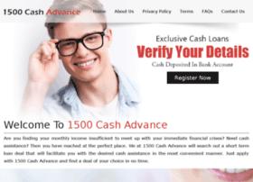 1500cashadvance.net thumbnail