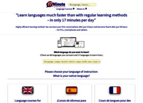 17-minute-languages.net thumbnail