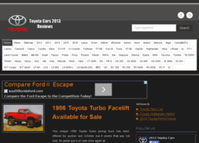 2013 / 2014 Toyota Car Model Reviews