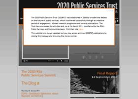 2020publicservicestrust.org thumbnail