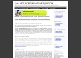 24-versicherungsvergleich.de thumbnail