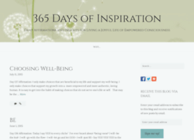 365daysofinspiration.wordpress.com thumbnail
