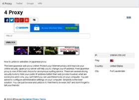 4proxy.se thumbnail