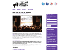 6billionways.org.uk thumbnail