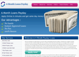 6monthloanspayday.co.uk thumbnail