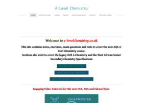 A-levelchemistry.co.uk thumbnail