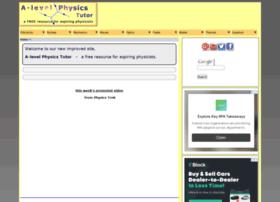 A-levelphysicstutor.com thumbnail