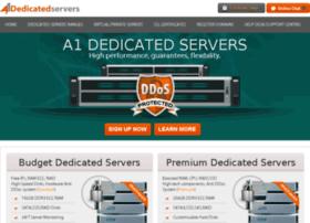 a1dedicatedservers at WI A1 Dedicated Servers