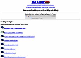 Aa1car.com thumbnail