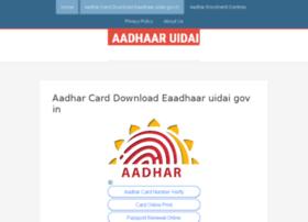 Aadhaaruidai.in thumbnail