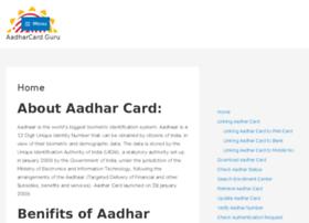 Aadharcard.guru thumbnail