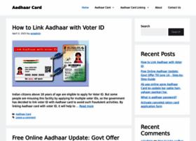 Aadharcardsstatus.com thumbnail