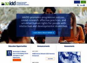 Aaidd.org thumbnail