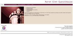 Aaronglen.com thumbnail