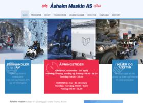Aasheim-maskin.no thumbnail