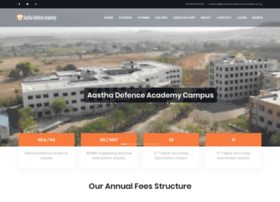Aasthadefenceacademy.org thumbnail
