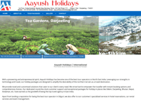 Aayushholidays.co.in thumbnail