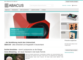 Abacus-electronics.de thumbnail
