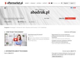 Abadruk.pl thumbnail