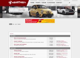Abarthisti.co.uk thumbnail