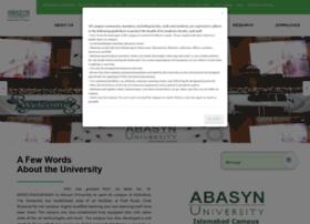 Abasynisb.edu.pk thumbnail