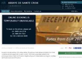 Abbaye-de-ste-croix.hotel-rez.com thumbnail