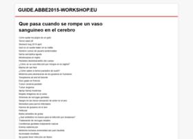 Abbe2015-workshop.eu thumbnail