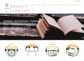 Abbottlibrary.org thumbnail