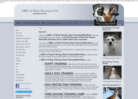 Abcsofdogtraining.com thumbnail