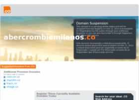 Abercrombiemilanos.co thumbnail