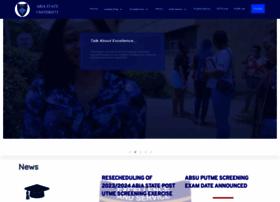 Abiastateuniversity.edu.ng thumbnail