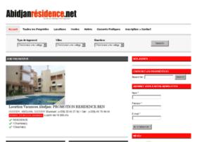 Abidjanresidence.net thumbnail