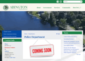 Abingtonpolice.org thumbnail
