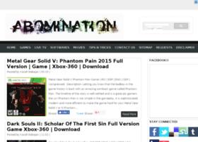 Abominationgames.net thumbnail