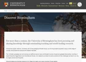 About.bham.ac.uk thumbnail