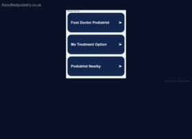 Aboutfeetpodiatry.co.uk thumbnail