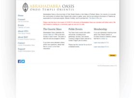 Abrahadabra-oto.org thumbnail