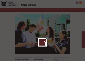 Abroad.gau.edu.tr thumbnail