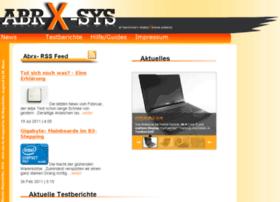 Abrx-sys.de thumbnail
