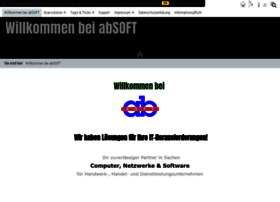 Absoft-edv.eu thumbnail