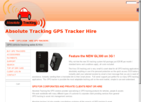 Absolute-tracking.co.uk thumbnail