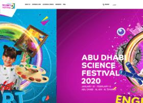 Abudhabisciencefestival.ae thumbnail